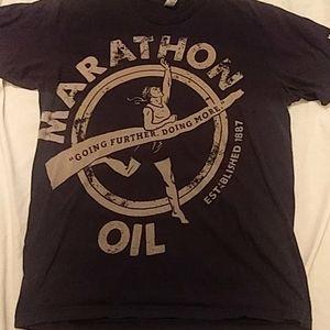 Marathon oil shirt